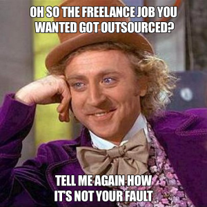 Why Outsourcing Is Your Fault
